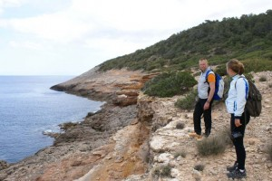 walking route in Ibiza St Vicente