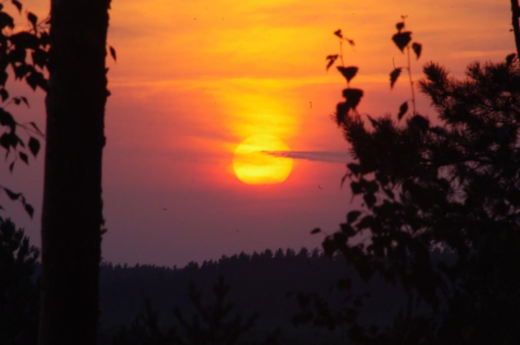 Sunset at Meenikunno, Estonia, walking in Estonia, Estonian nature