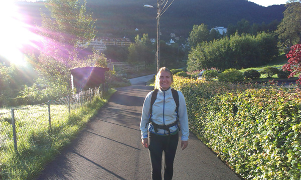 walking in Bergen