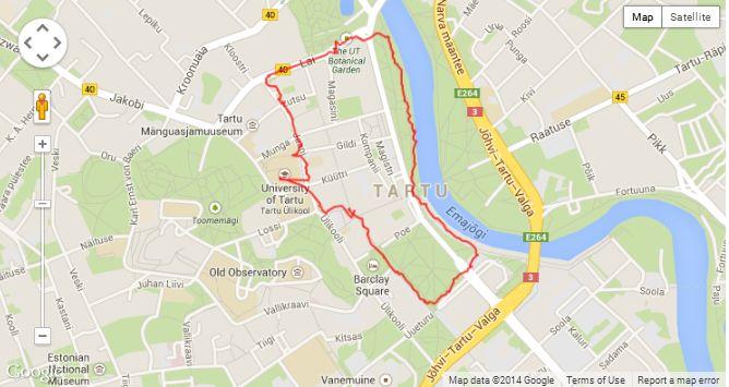 2,5km 30 minutes
