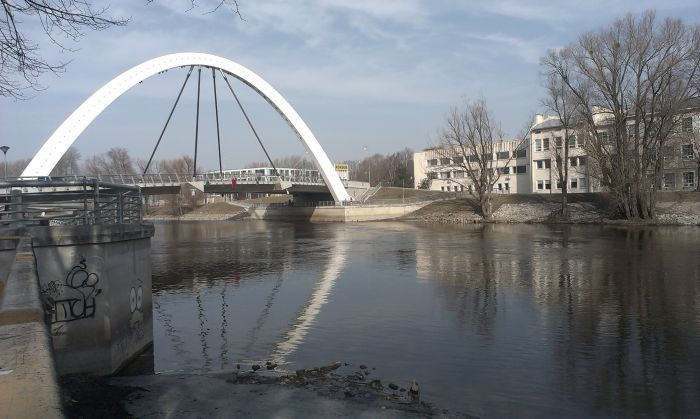 There are many bridges in Tartu