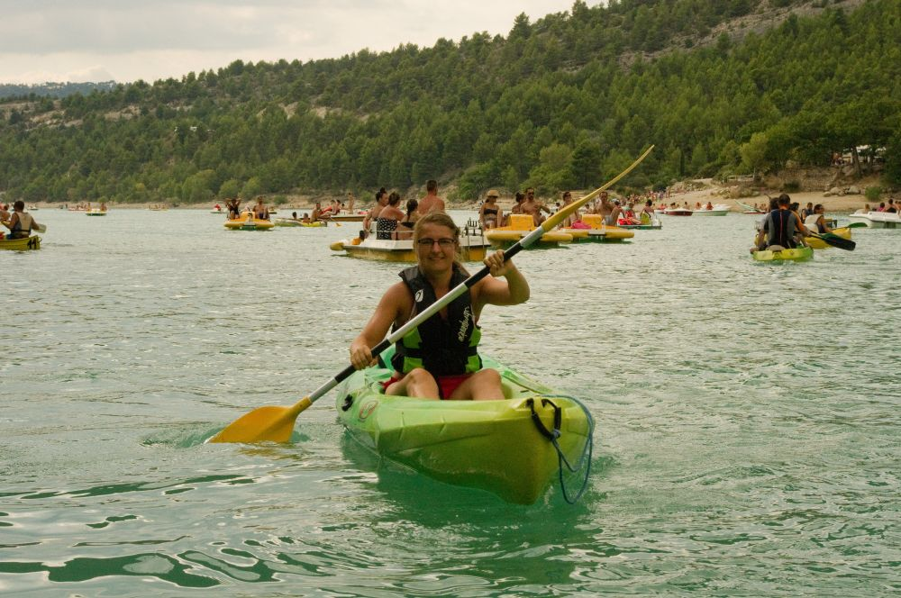 "My ""green leaf"" kayak"