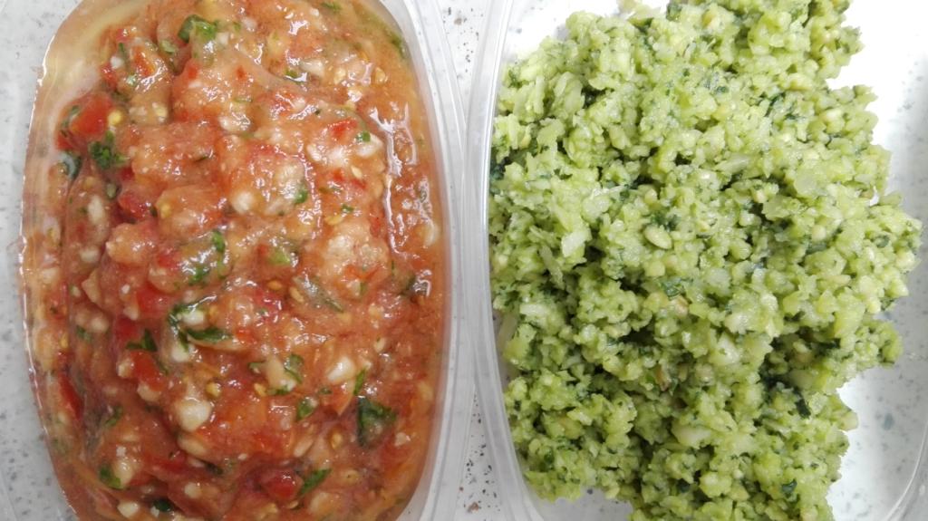 tomato salsa pesto