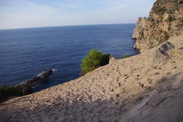 walking in Ibiza Atlantis
