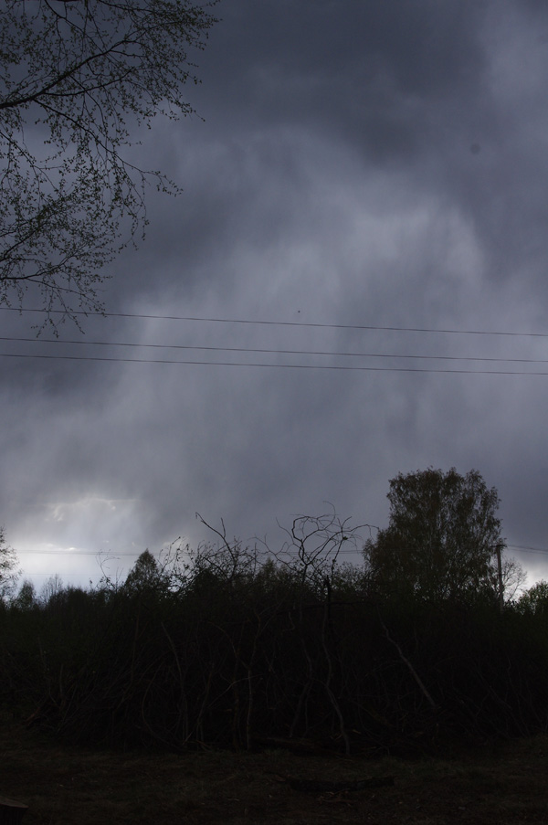 Barely managed just before the rain.