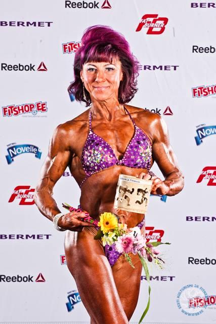 Esta on tulnud Eesti meistriks erinevatel fitness aladel